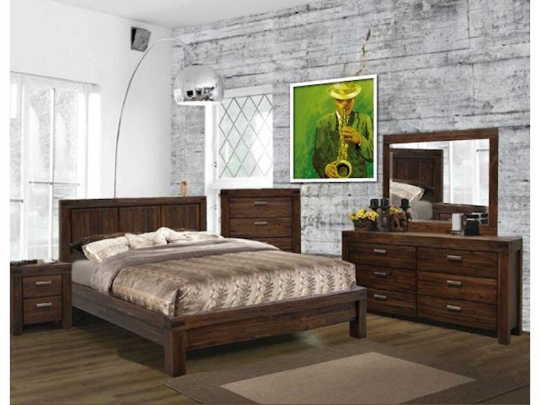 Hudson Prague Bedroom Set Upper Room Home Furnishings - Prague bedroom furniture set