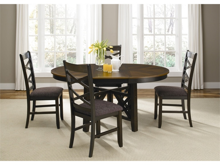 Jasper Round Extendable Dining Table 74
