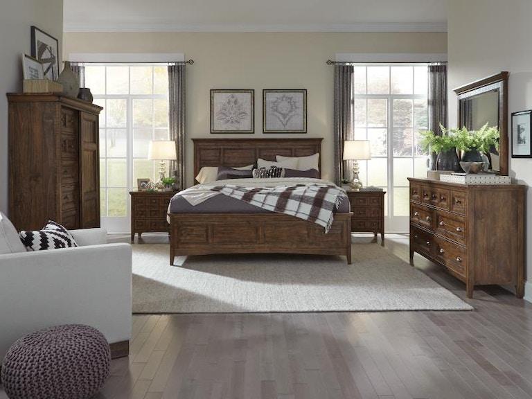 Magnussen Home Bay Creek Bedroom B4398 Bedroom Upper Room Home