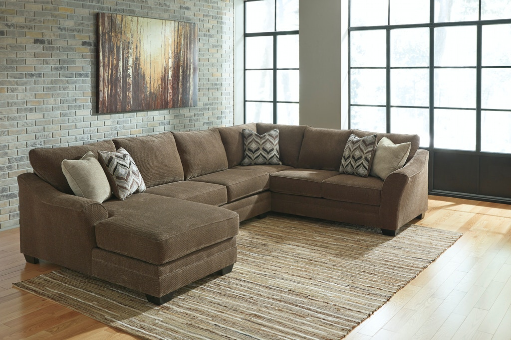 more photos a973f fa604 Signature Design by Ashley Living Room 3 Piece Sectional ...