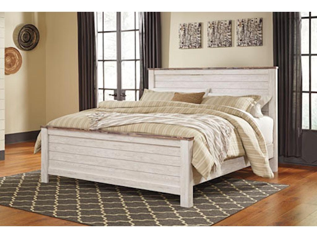 Ashley Bedroom Cal King Panel Bed Pk B267 Ckp Evans Furniture Galleries Chico Yuba City