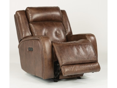 Flexsteel Jude Power Recliner W/ Power Headrest 1559-54PH