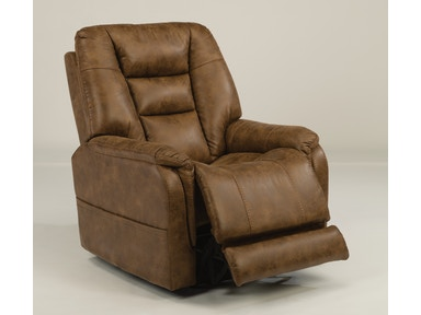 Flexsteel Theo Power Recliner W/ Power Headrest 1568-50PH