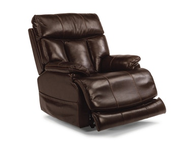 Flexsteel Clive Power Recliner W/ Power Headrest 1595-50PH