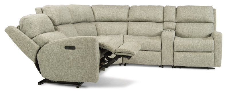 Flexsteel Catalina 6 piece Sectional with power footrest and headrest S2900H-6PC/147-11  sc 1 st  Woodleyu0027s Fine Furniture : 6 piece sectional sofa - Sectionals, Sofas & Couches