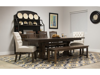 Artisan Post Trestle Table Set Simply Dining