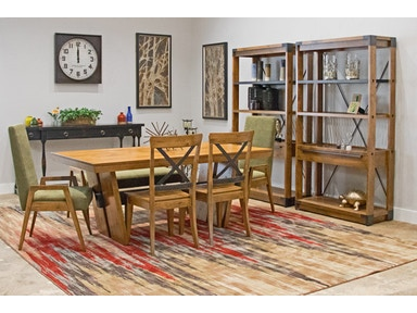 Canadel Solid Birch Table W 4 Chairs And A Bench Market Street Set