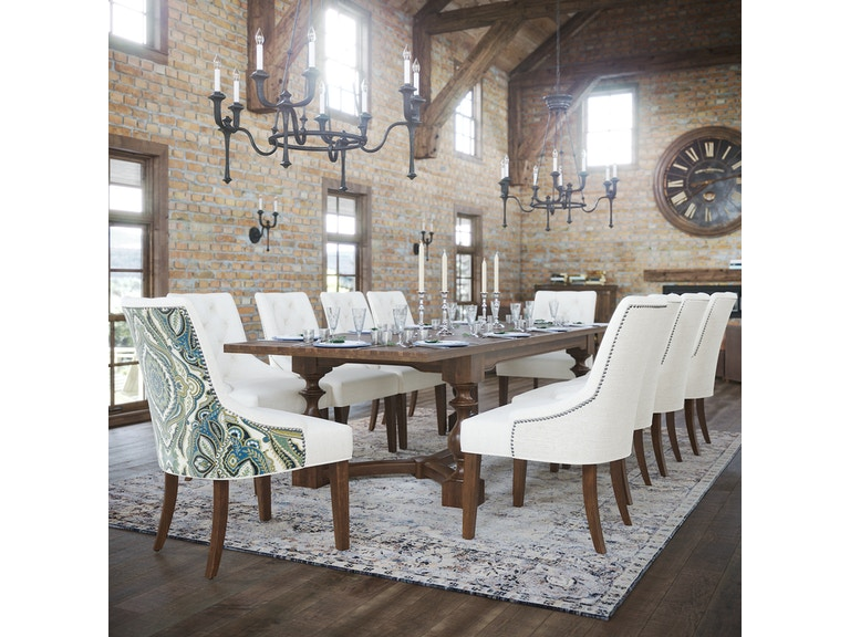 Canadel Solid Birch Table and Chairs Maison Grande Set