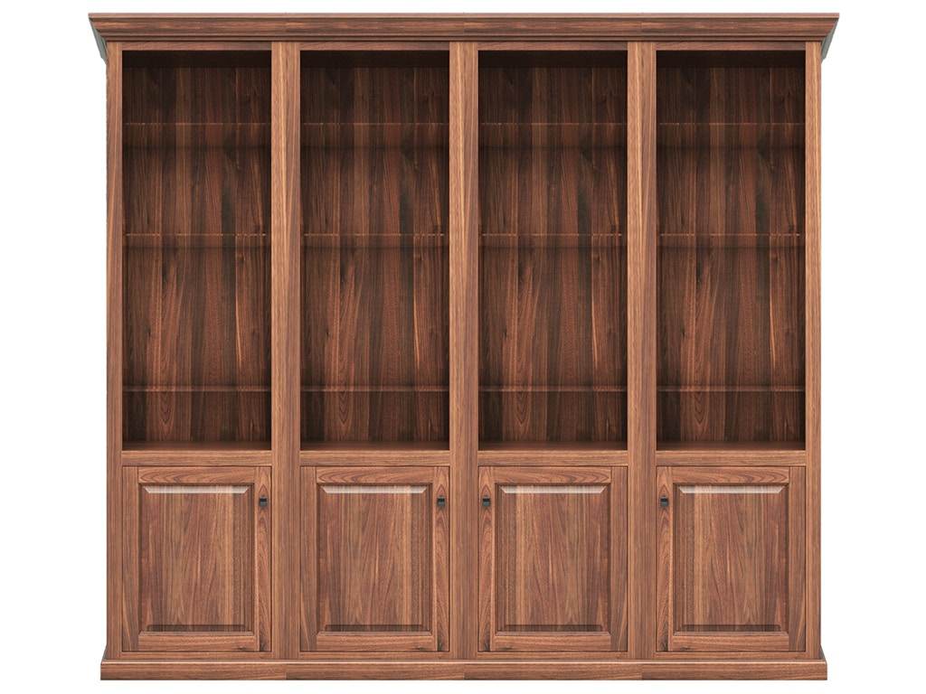 office bookcase with doors. Coal Creek 4PC Executive Office Bookcase With Doors