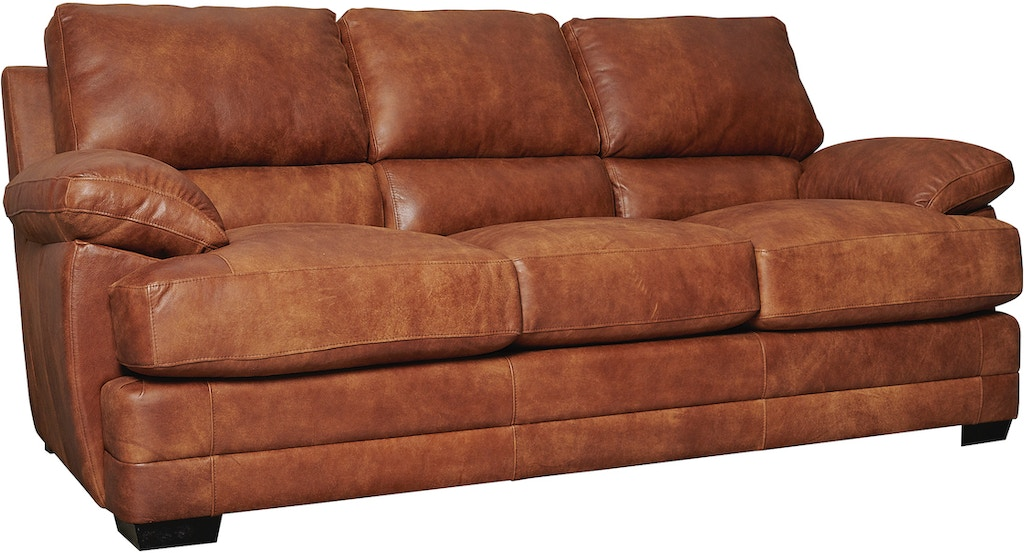 Legacy Leather Sofa Cozy