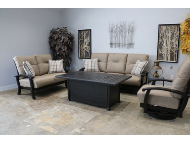 Mallin Casual Outdoor Group Georgetown Sofa Set