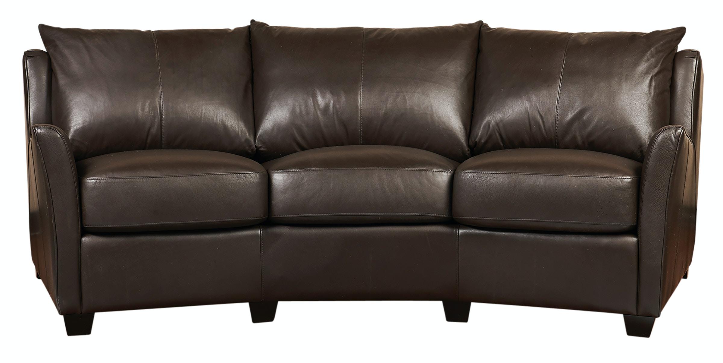 Legacy Leather Angle Sofa U0026 Ottoman M400