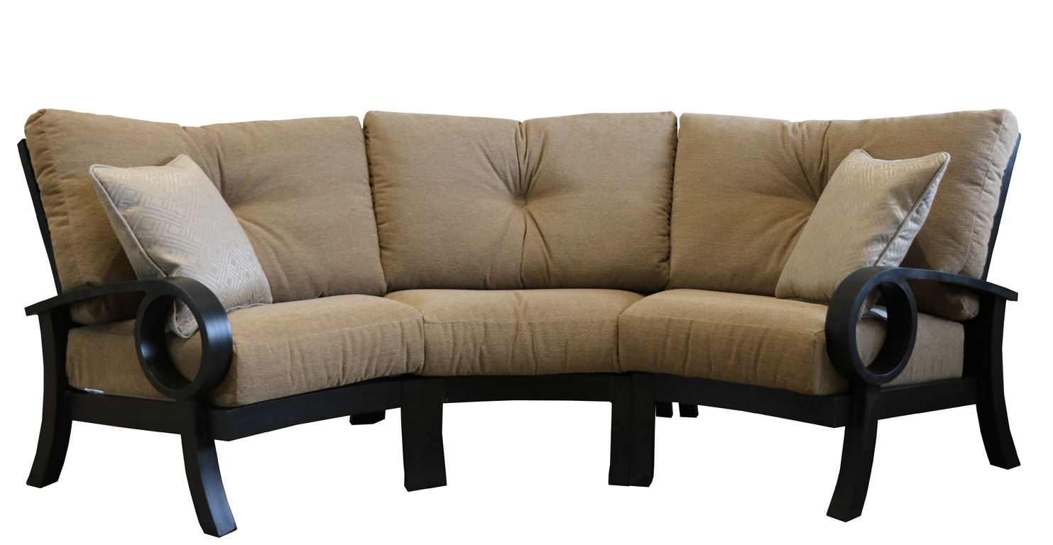 Amazing Mallin Casual Sectional EP 3PC
