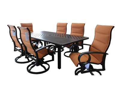 Mallin Casual Outdoor Group Eclipse Dining Set