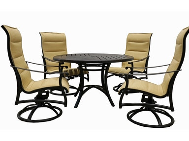 Mallin Casual Dining Set Seville Sling Style