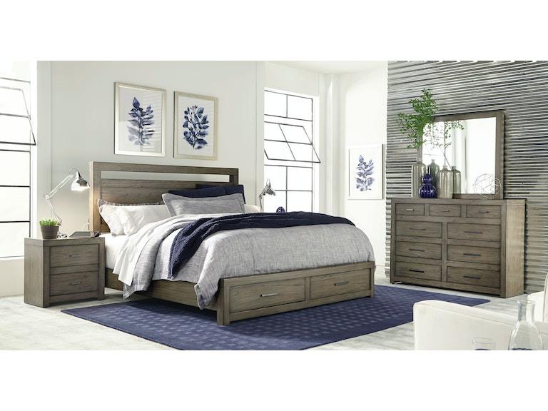 Aspenhome Master Bedroom Set Modern Loft
