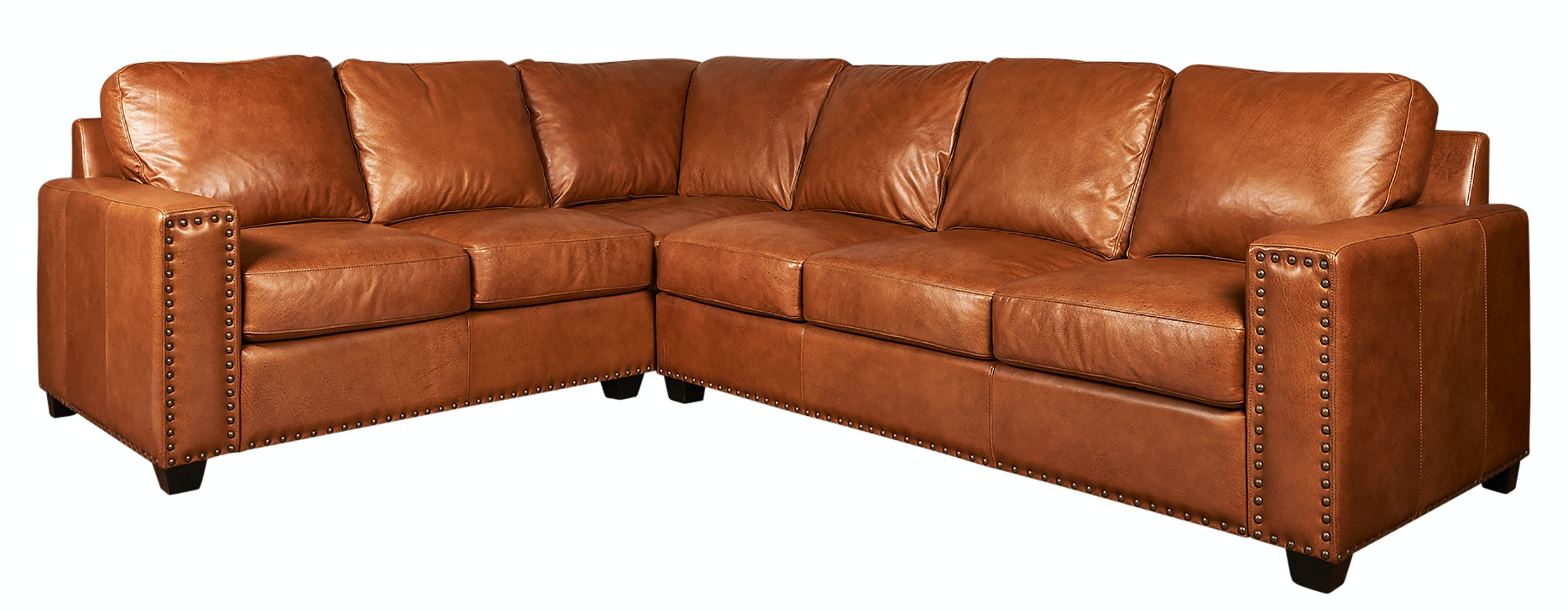 Lovely Legacy Leather Sectional S700