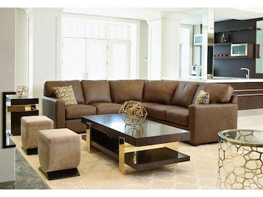 Legacy Leather Sectional San Diego