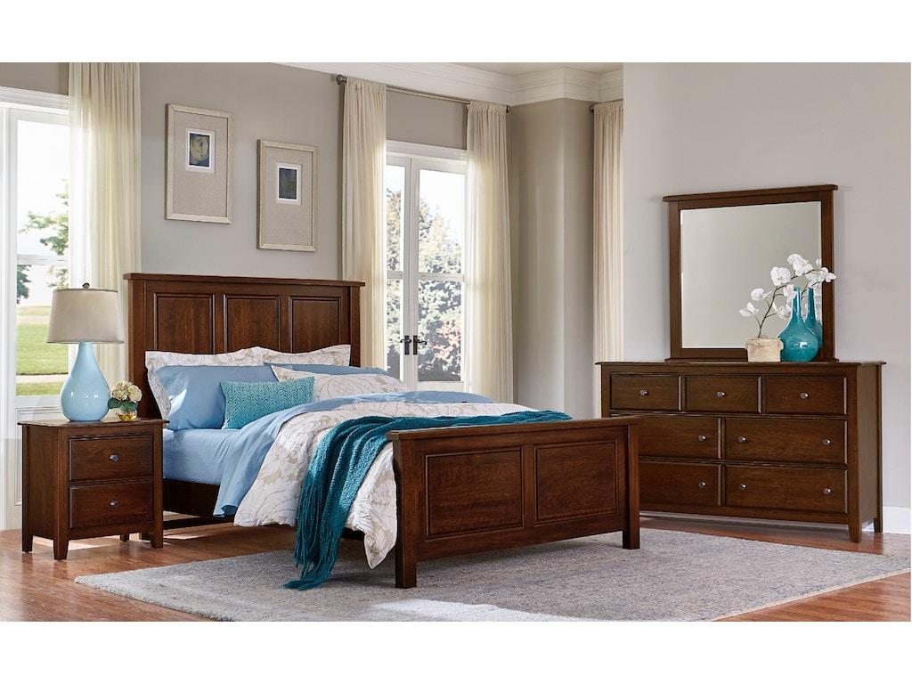 Vaughan Bassett Furniture Company Artisan Post Loft