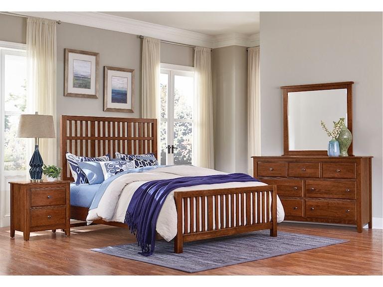 Vaughan-Bassett Furniture Company Artisan & Post Villa Craftsman ...