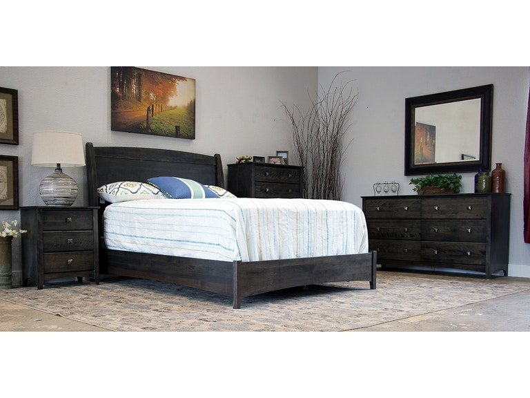 Woodley Brothers Mfg. Colorado Made Solid Birch Bedroom Set ...