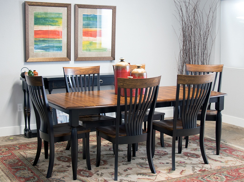 palettes furniture. Palettes By Winesburg Solid Elm And Maple Table With 6 Side Chairs Brinkley Dining Set Furniture O