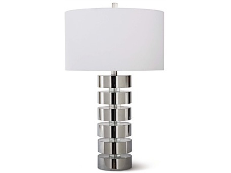 Devon Crystal/Nickel Lamp RGD131268LINEA-10