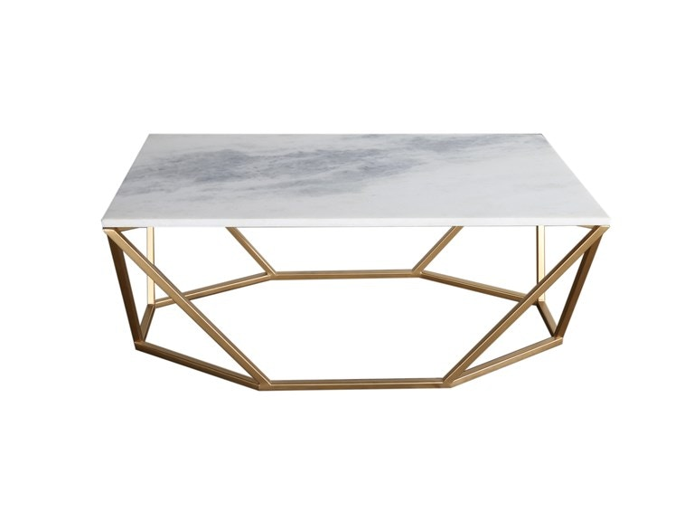 Geo Marble Cocktail Table STMAW201508ST CLR At Walter E. Smithe Furniture  And Design