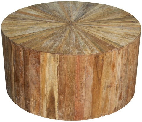 Exceptionnel Outlet Center Round Teak Wood Coffee Table NORGTAB169TT 1 From Walter E.  Smithe Furniture