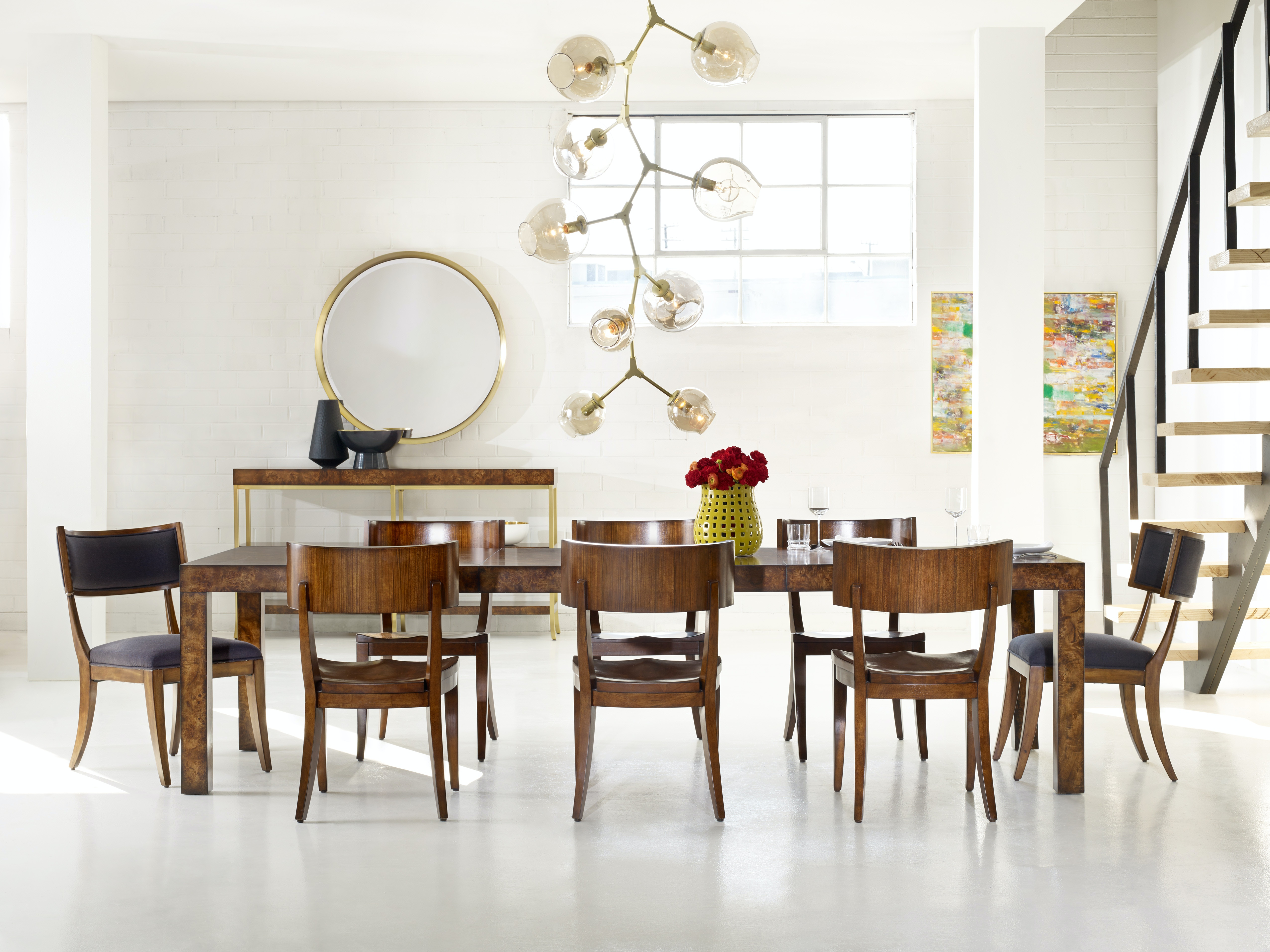 VIRTUAL SHOWROOM DINING LONG BOARD DINING ROOM BY CYNTHIA ROWLEY  LONGBOARDDR From Walter E. Smithe