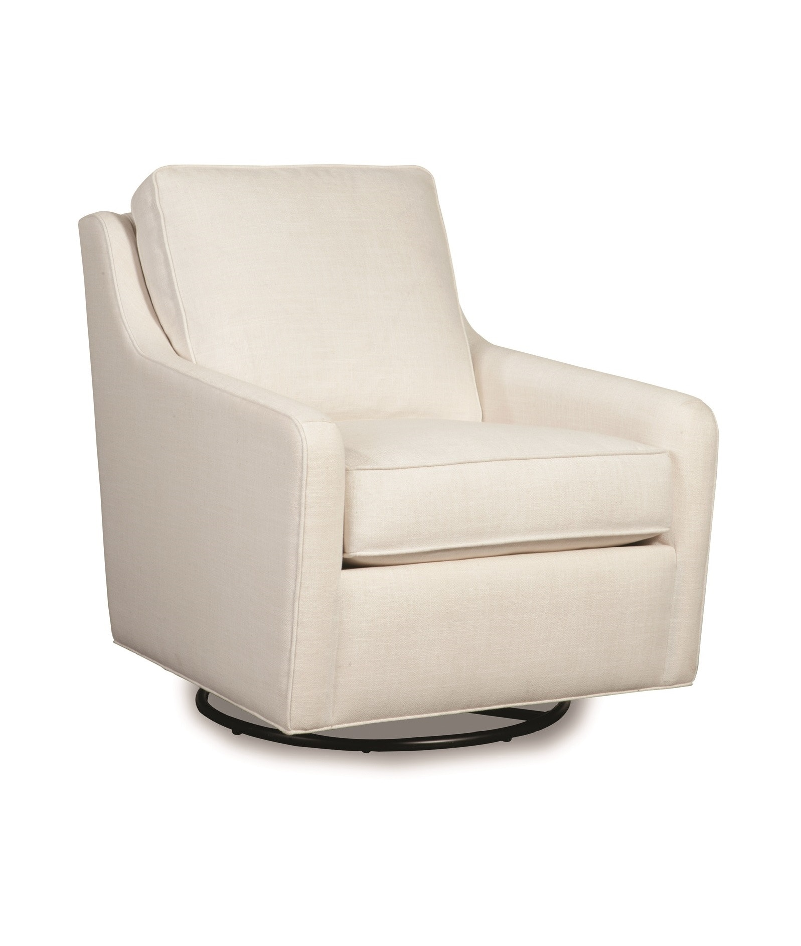 swivel glider chair. WES Sound Swivel Glider Chair (loose Back Cushion) 1610 From Walter E. Smithe