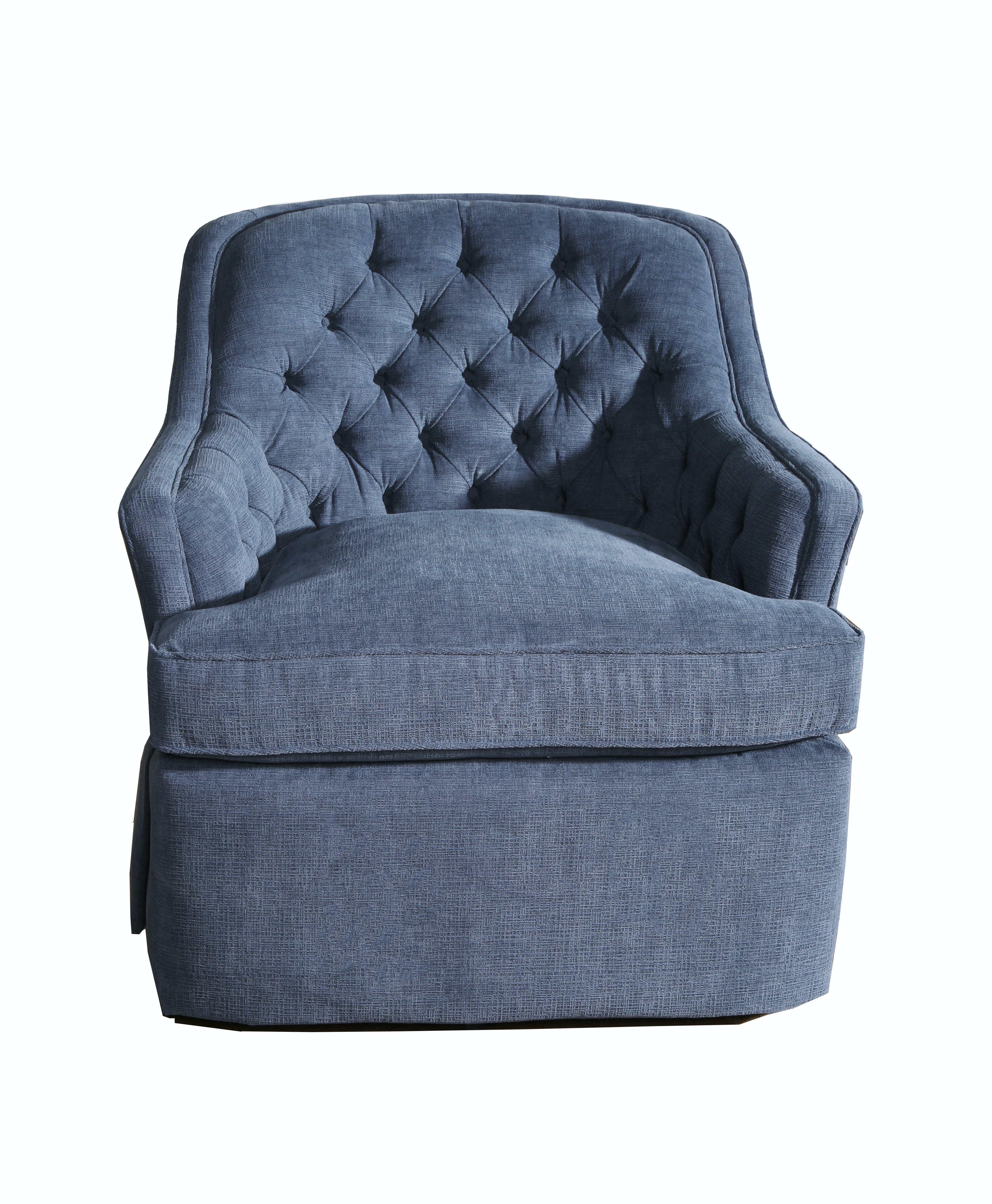 2014 at 768 215 768 in elegant collection of cushioned rocking chairs - Featured Product Ellery Tufted Swivel Rocker Chair From Walter E Smithe Furniture