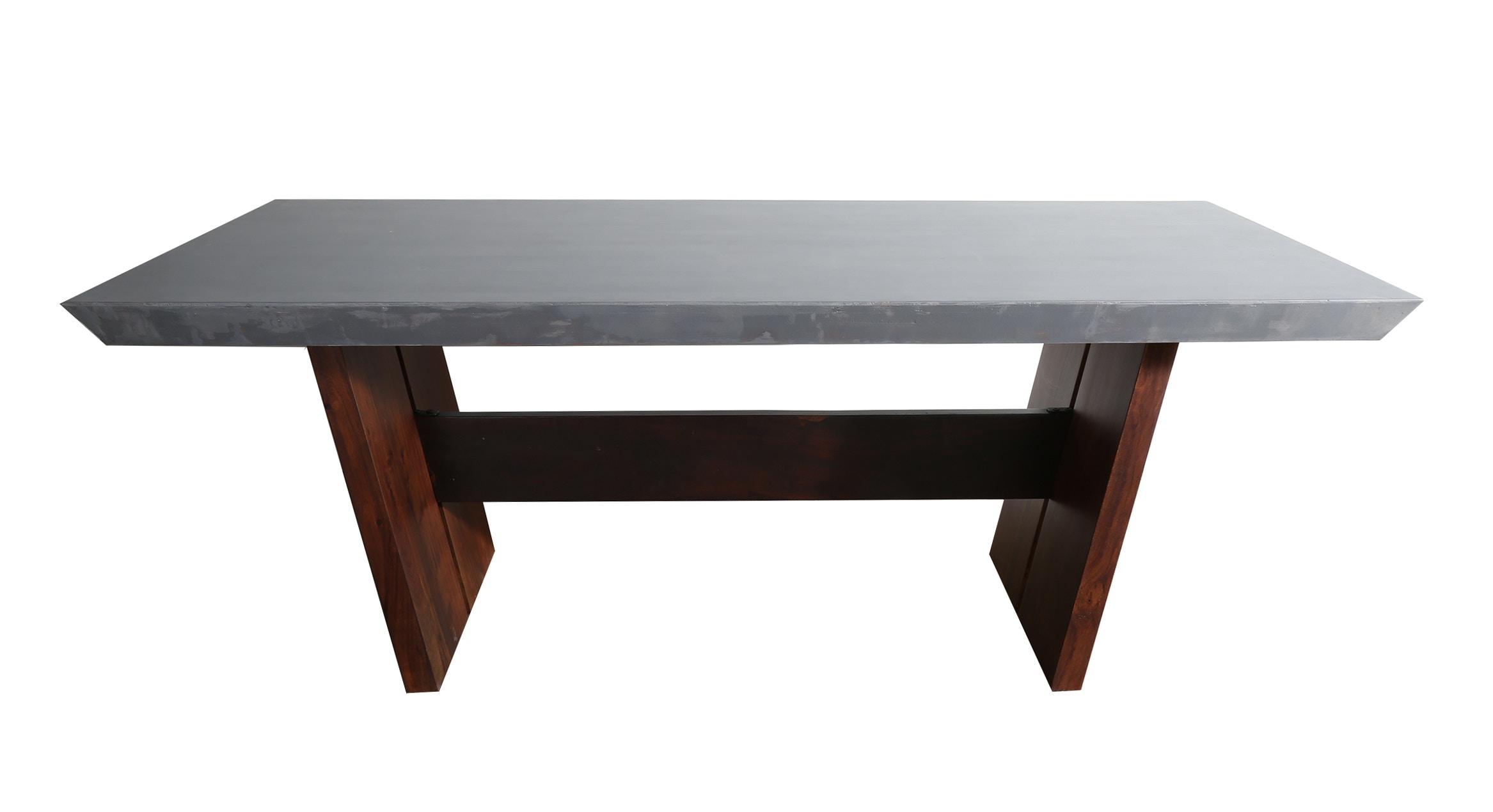 Stock Program BOLTON CONCRETE DINING TABLE DEN15031ST From Walter E. Smithe  Furniture + Design