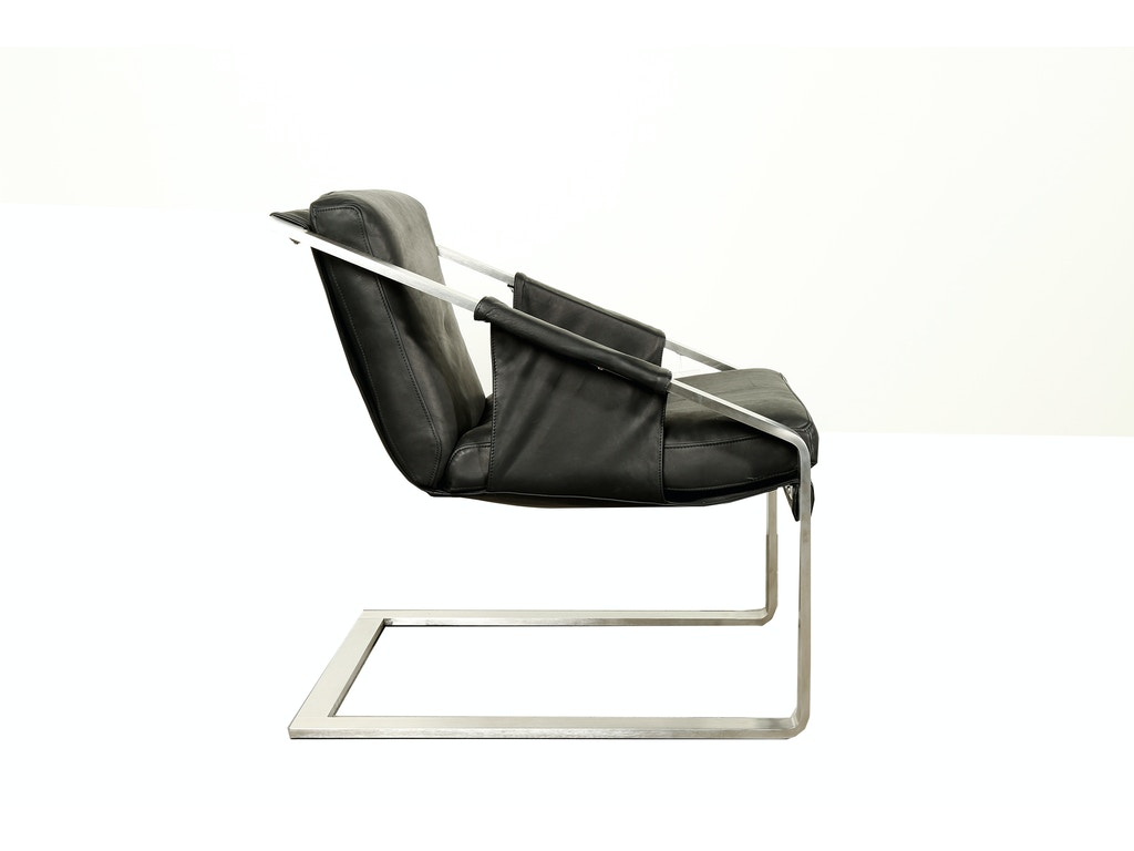 Leather sling chair - Saddleworks E Hancock Leather Sling Chair Sl632261p From Walter E Smithe Furniture Design
