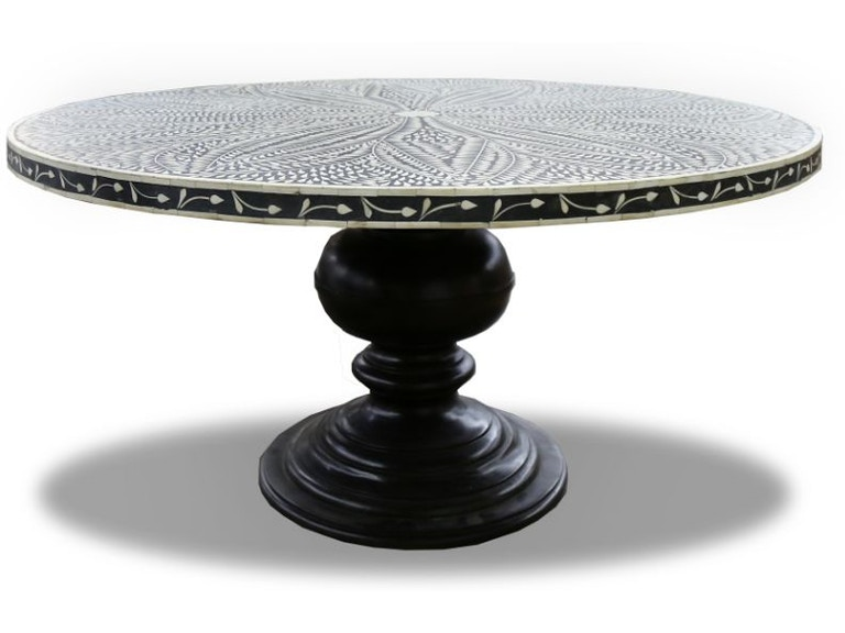 Micah Bone Inlay Dining Table