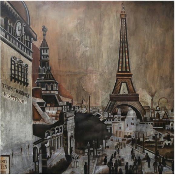 Vintage Metal Wall Art Vintage Paris Metal Wall Art
