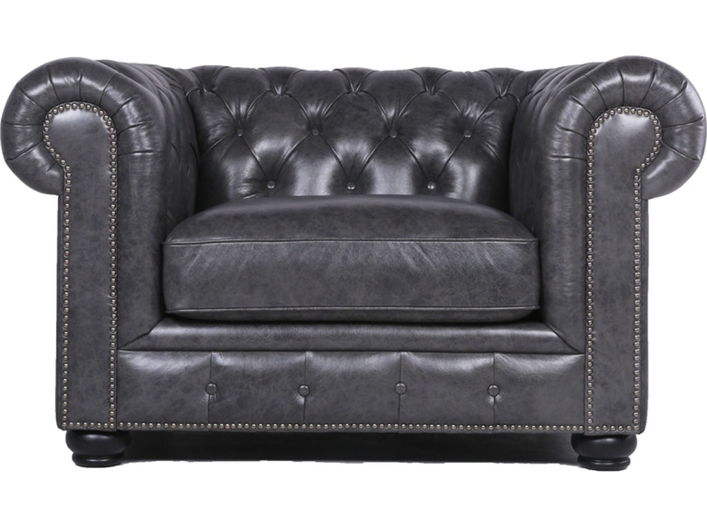 Superb Carlton Leather Chesterfield Chair Grey Bralicious Painted Fabric Chair Ideas Braliciousco