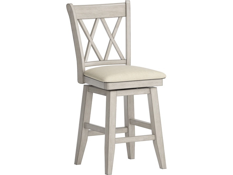 Prime Dearborn 24 Counter Height Swivel Chair Double X Back Uwap Interior Chair Design Uwaporg