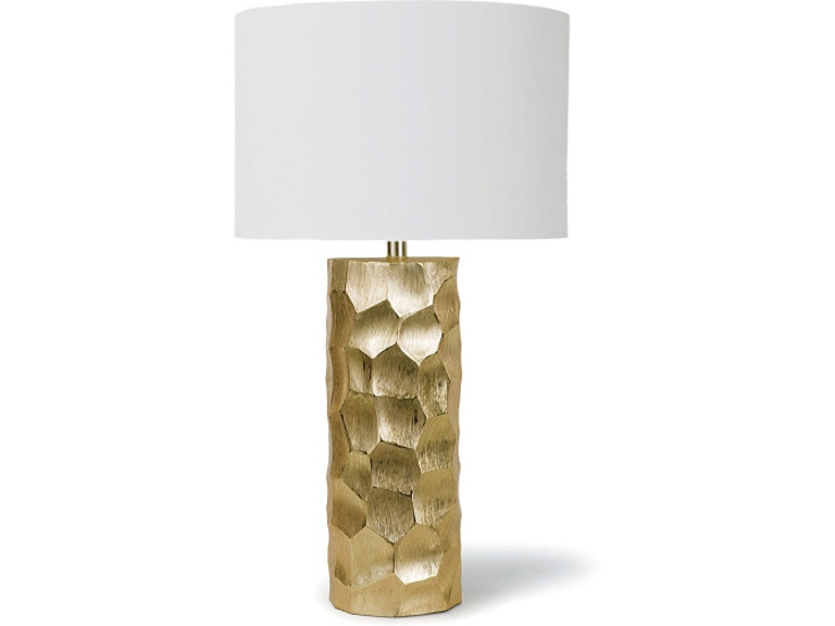 Regina Andrew Daphne Table Lamp Brushed Gold Rgd131126 From Walter E Smithe Furniture