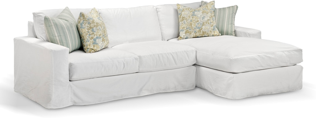 Wes Breeze Slipcovered Left Arm Sofa 57037 From Walter E Smithe Furniture Design