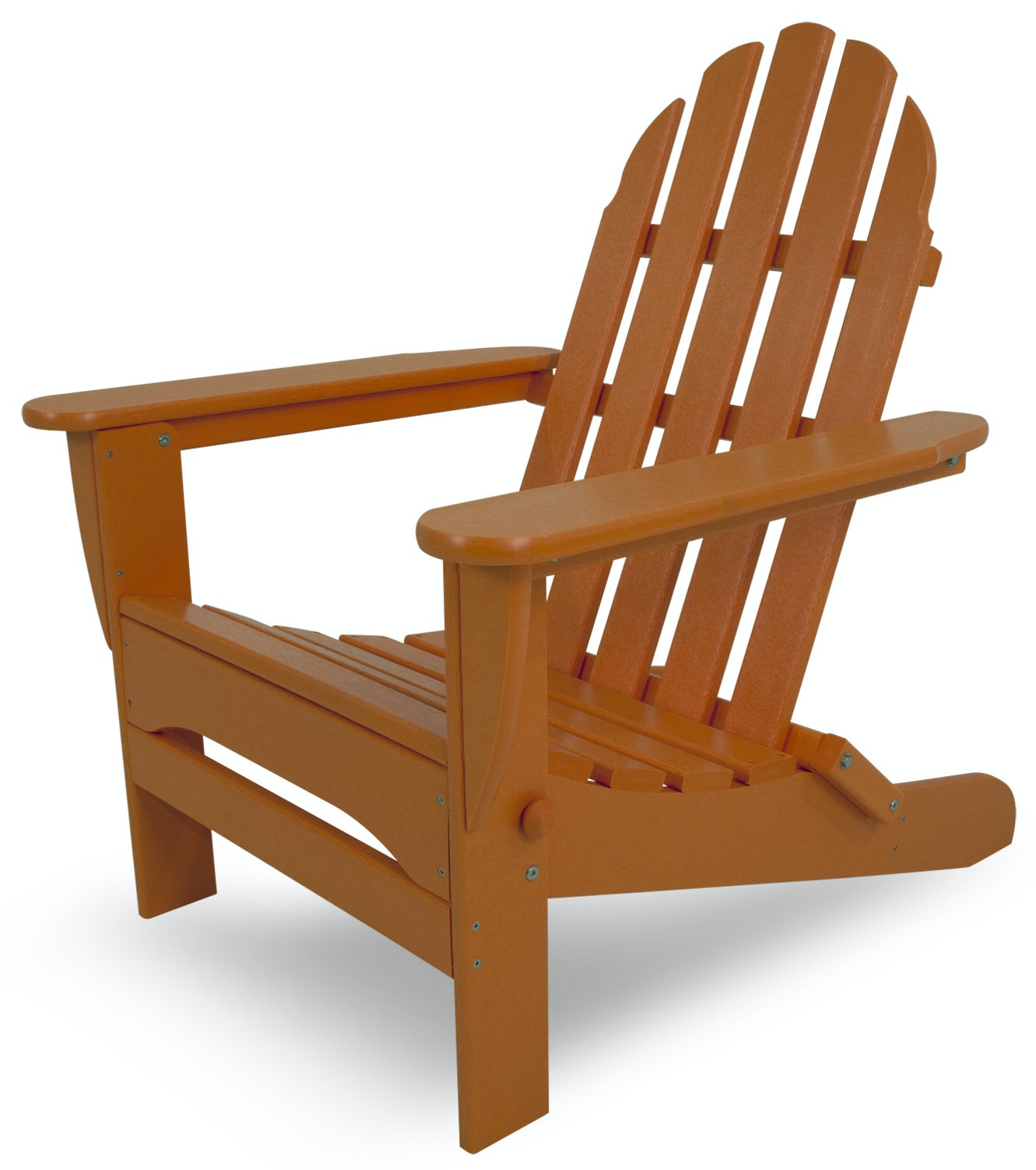 Westport Chair Co. TANGERINE CLASSIC FOLDING ADIRONDACK CHAIR WCC5030TAN  From Walter E. Smithe Furniture