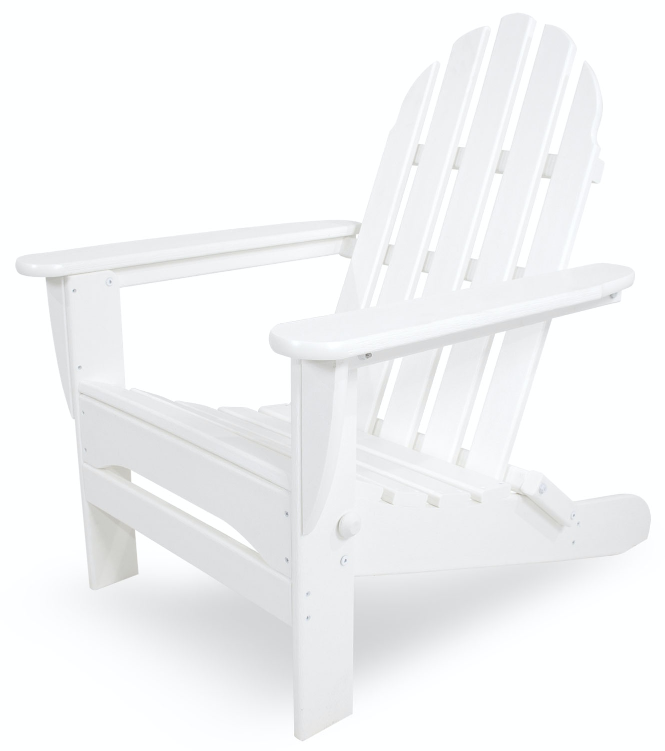 Westport Chair Co. WHITE CLASSIC FOLDING ADIRONDACK CHAIR WCC5030WHT From  Walter E. Smithe Furniture