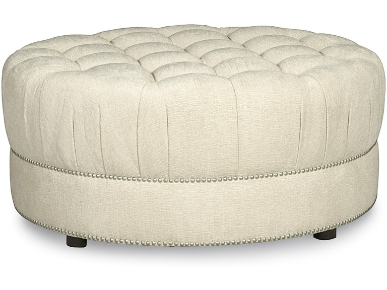 Stock Program Howe Round Tufted Ottoman Emb2045045008aast From Walter E Smithe Furniture Design