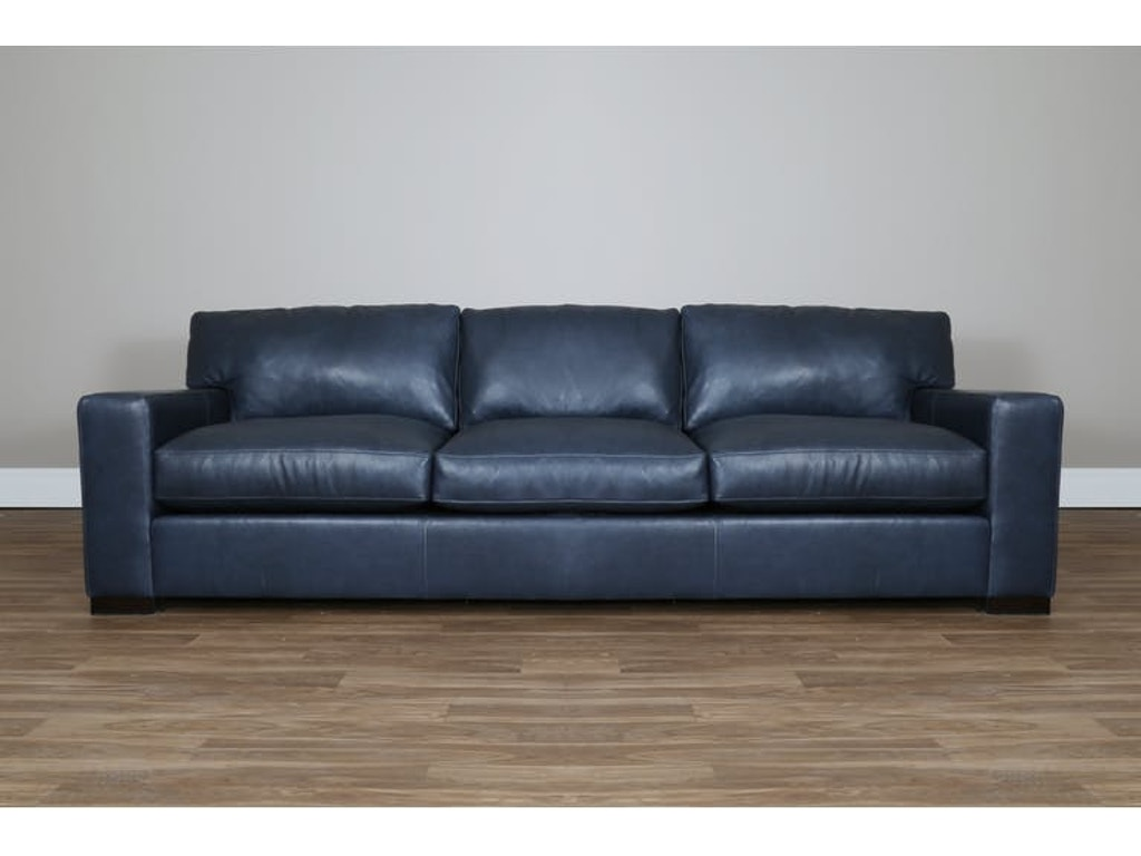 Clearance Living Room CHARLES LEATHER SOFA AVH2187LSXX?-CLR Walter E.  Smithe Furniture + Design