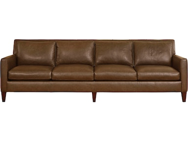 Brax 4 Seat Leather Sofa In Bowie Buff