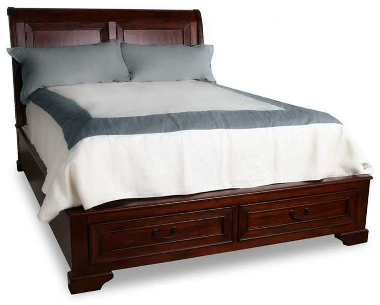 sleigh bed king size stock program queen storage furniture design uk frame