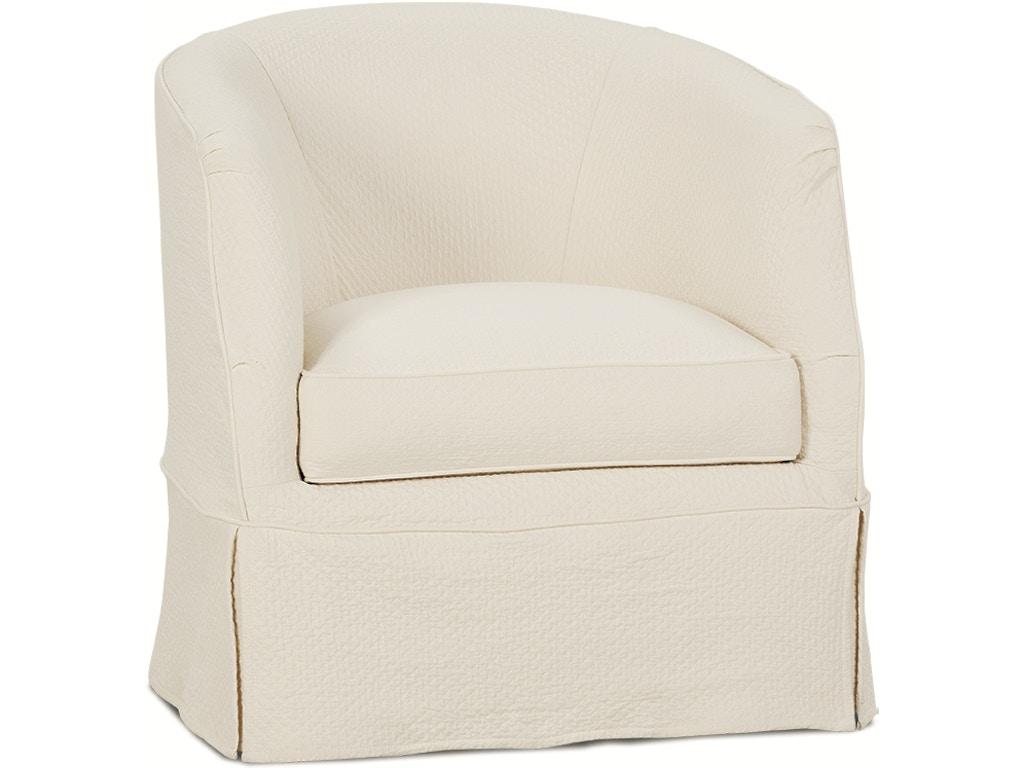 Benson Swivel Chair With Slipcover