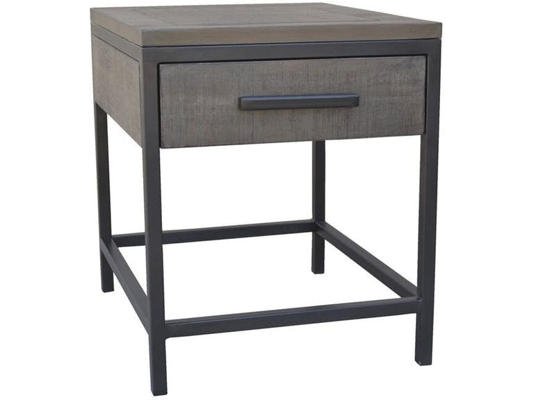Delicieux Clearance Parsons End Table Antique Grey BNG255AGST CLR