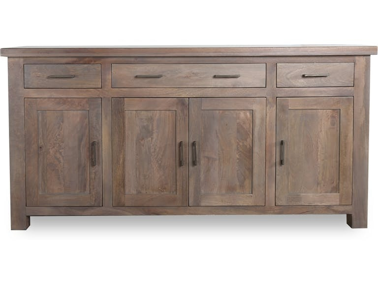 Attirant Stock Program BRISTOW BUFFET IN GREIGE BNGNB22AST From Walter E. Smithe  Furniture + Design