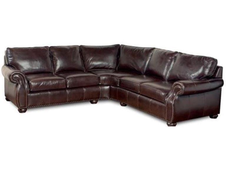 Stock Program Brady 2 Piece Leather Sectional Sl891ast Sl892ast From Walter E Smithe Furniture